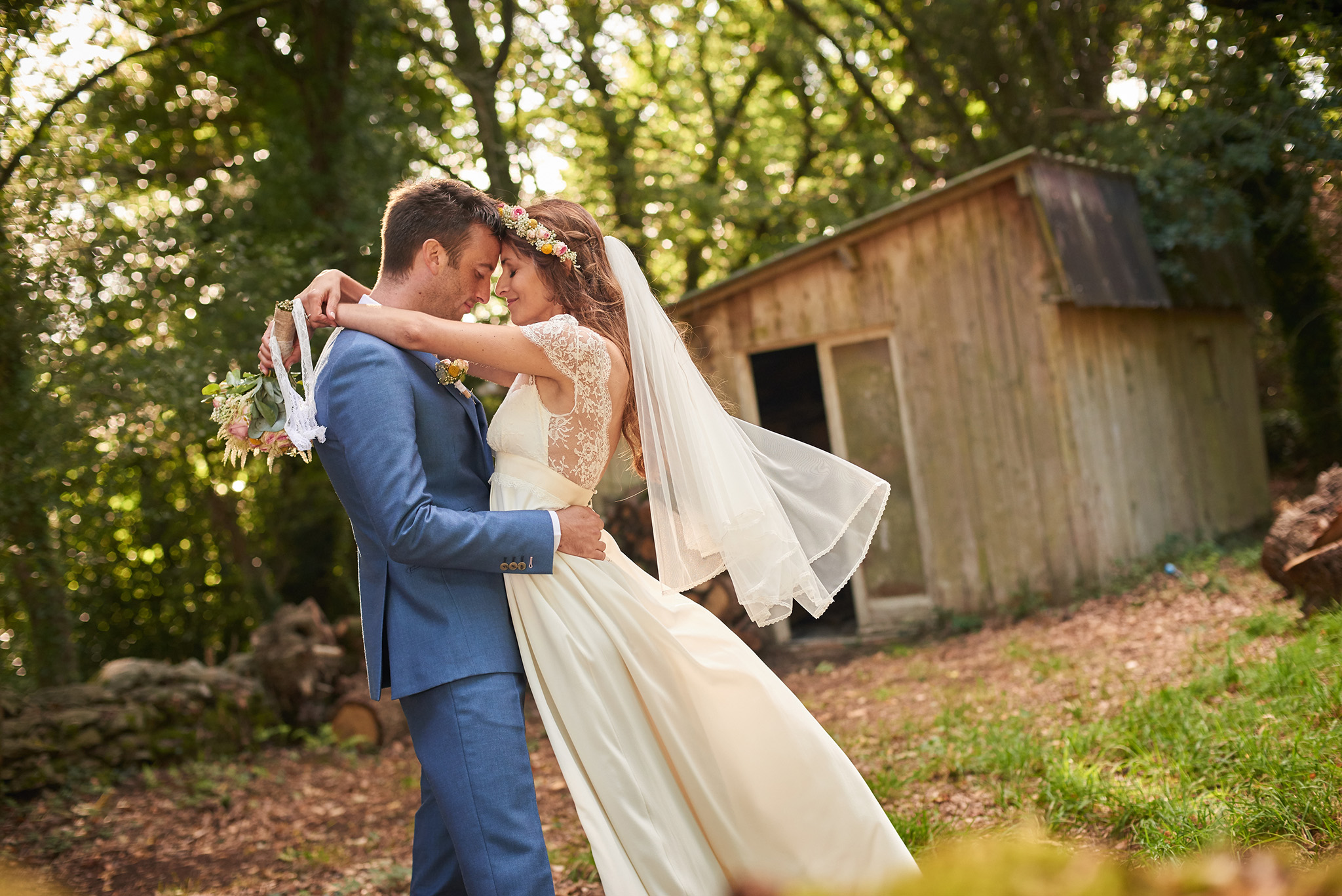 photographie de mariage photos de couple nantes rennes vannes angers - rudy burbant