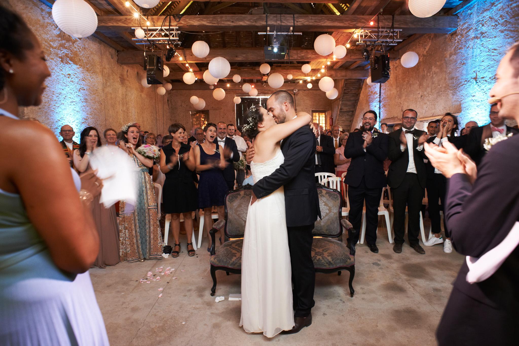 photographie de ceremonie mariage fiona et gus couleur nantes